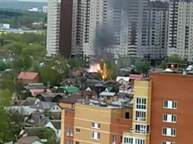 В Новой Москве мать и дочь подожгли дом, пока жарили шашлыки