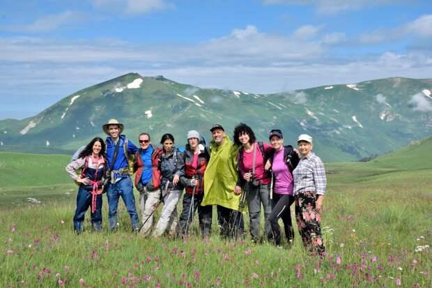 Группа туристов из Израиля