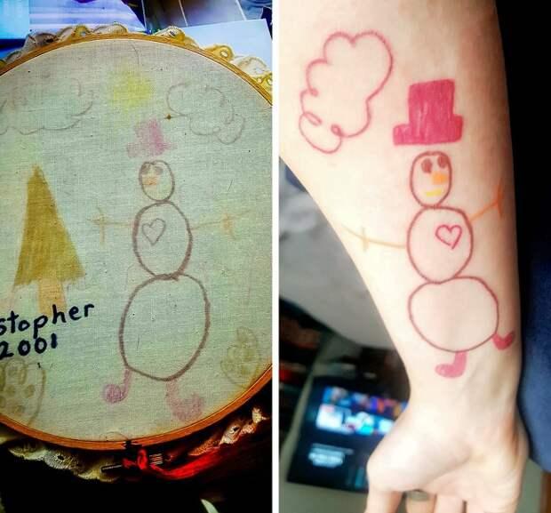 Сентиментальные татуировки