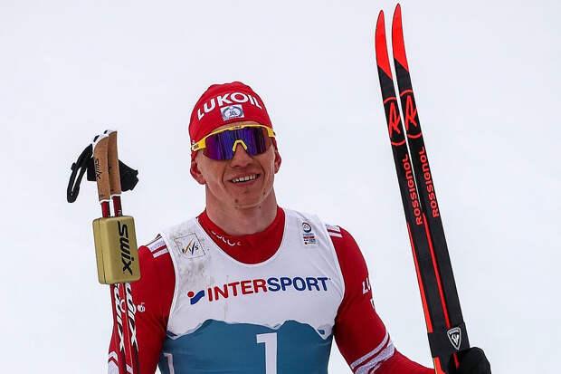 Большунов победил в спринте на чемпионате России
