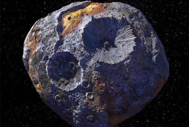 Астероид Психея может оказаться ядром никогда не сформировавшейся планеты