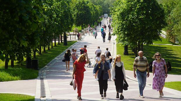 В Москве 31 июля будет жарко и преимущественно без осадков