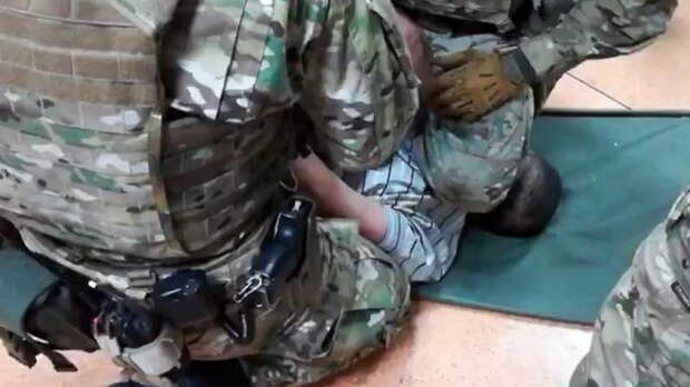 В России задержали террористов с портретом Бандеры