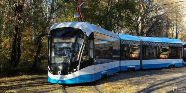 В Войковском изменились маршруты нескольких трамваев