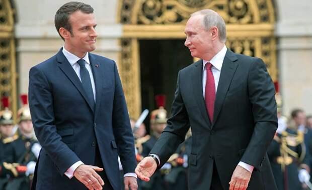 Лед тронулся? Макрон собирается посетить Парад Победы в Москве