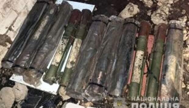 Силовики продолжают находить скрытые схроны пророссийских боевиков