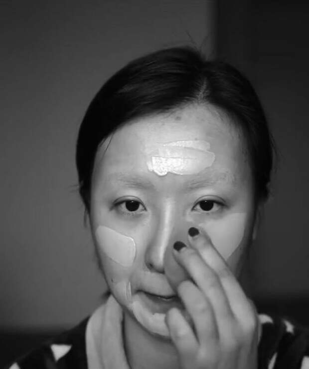 Как китаянка превратилась вДжонни Деппа за10 шагов спомощью макияжа