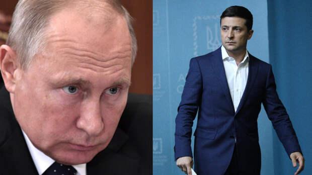 Зеленский заявил о готовности встретиться с Путиным в любой точке Донбасса