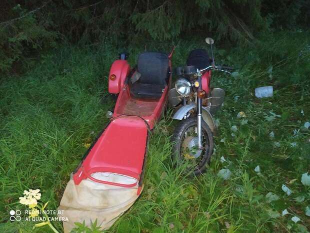 Мотоциклист погиб под Глазовом