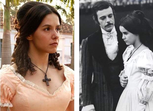 Главные герои сериала «Рабыня Изаура» тогда и сейчас.