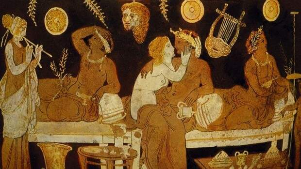 Фото №1 - Самые странные сексуальные обычаи Древней Греции