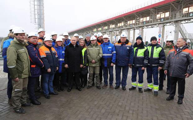 Путин открыл скоростную платную трассу М-11 «Москва – Санкт-Петербург». Имя ей – «Нева»