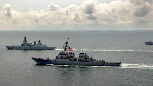 Посольство РФ отметило агрессивный характер учений НАТО и Украины в Черном море