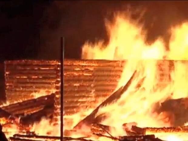 Заживо сгорели восемь человек при пожаре в Пермском крае, среди погибших— дети