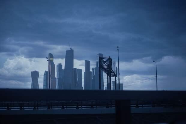 Москвичей предупредили о резком ухудшении погоды с дождём и мокрым снегом
