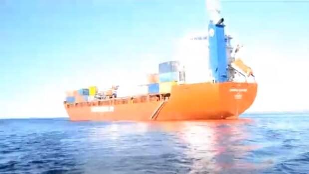 Специалисты Канонерского завода завершили ремонт сухогруза «Никифор Бегичев»