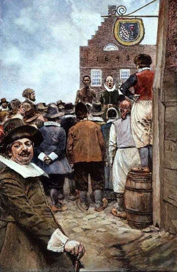 Амстердам извинился за столетия работорговли