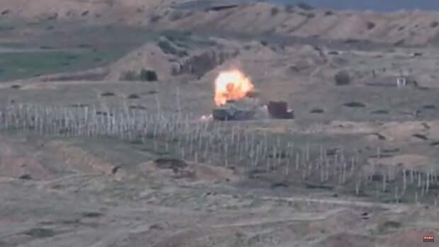 Вооруженный конфликт в Нагорном Карабахе начался утром в воскресенье, 27 сентября