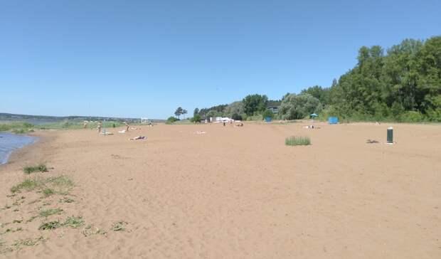 Только пять мест отдыха на воде открыты в Удмуртии