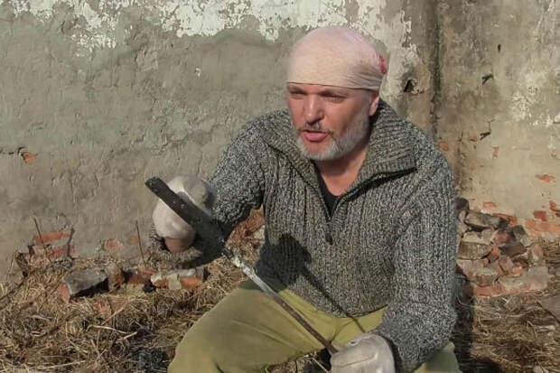 Клинок из железных опилок: работа опытного мастера