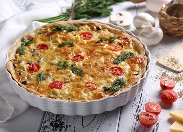 Сезонный киш с овощами: вкусный рецепт от Григория Германа