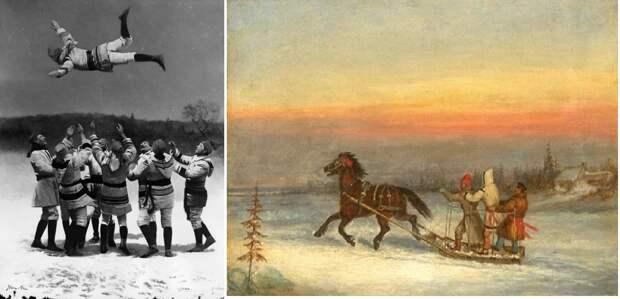Капоты у канадцев. Конец XIX века