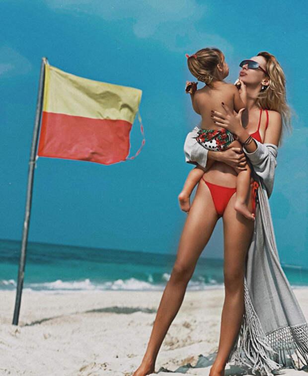 Светлана Лобода с дочерью Тильдой