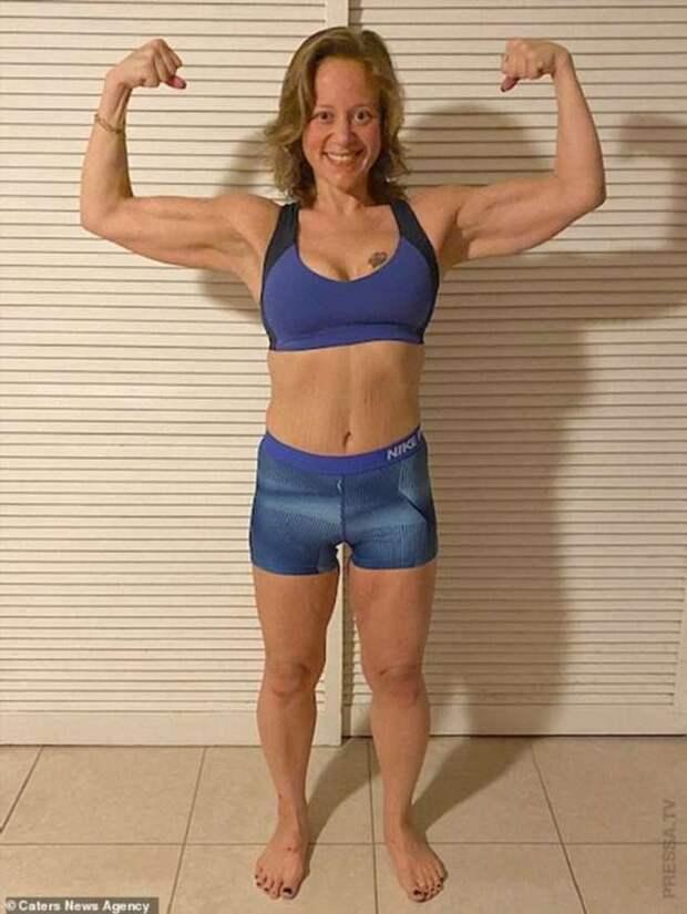 35-летняя женщина похудела на 81 кг