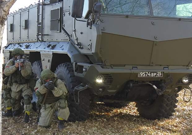 Партия «Тайфунов» поступила на вооружение спецназа Восточного военного округа в Забайкалье