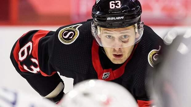 Дадонов признан первой звездой матча «Торонто» — «Оттава»