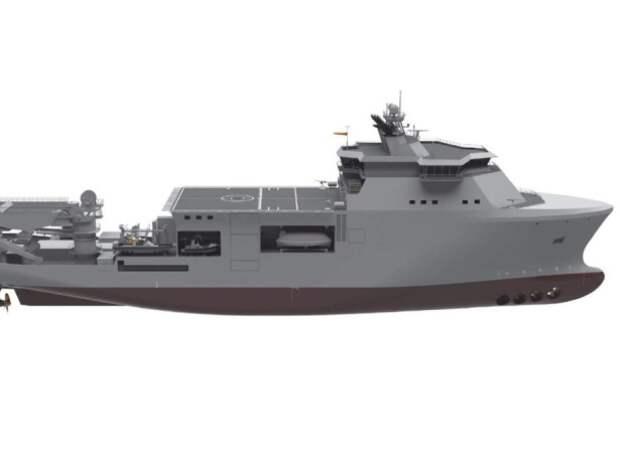 Италия построит новое многоцелевое водолазное судно к 2025 году