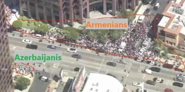 Армяно-азербайджанская баталия про Лос-Анджелесе