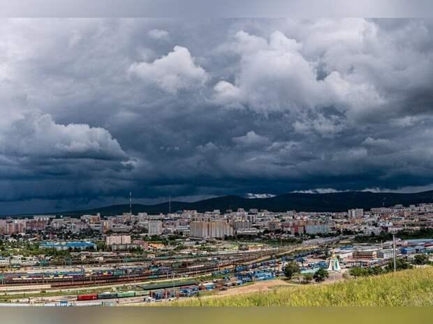По восточной половине Забайкальского края 27 июля ожидаются ливни и грозы