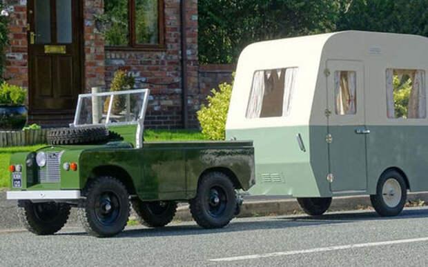 Игрушечный Land Rover и автодом — всего-то 350 тысяч!
