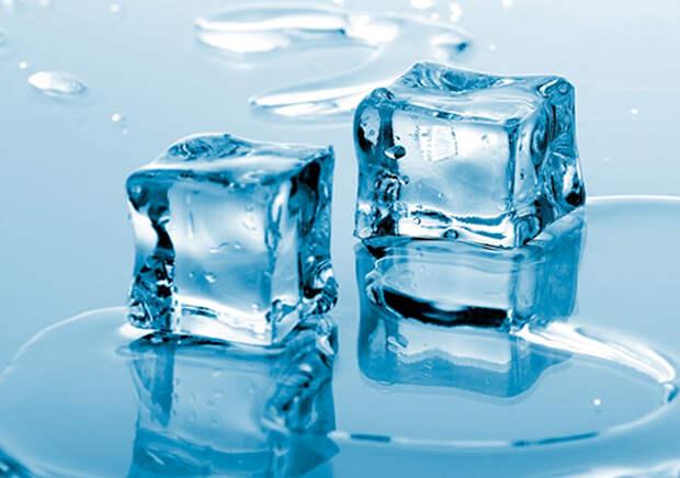 Сколько какой воды содержится во льду