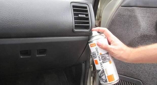 Как устранить скрип в салоне автомобиля