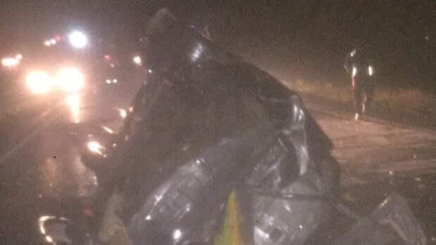 На трассе Нижнегорский – Белогорск перевернулась легковушка, погиб пассажир