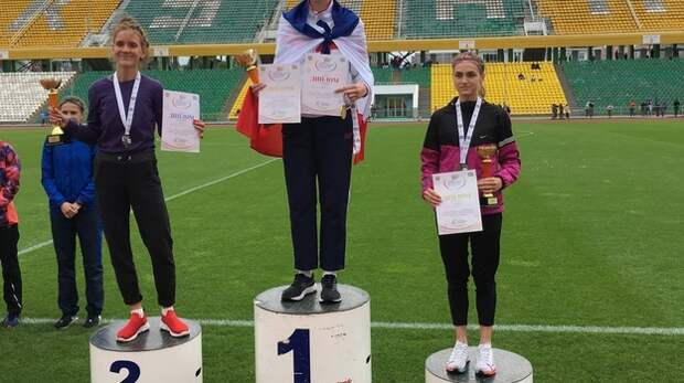 Крымские легкоатлеты завоевали 53 медали