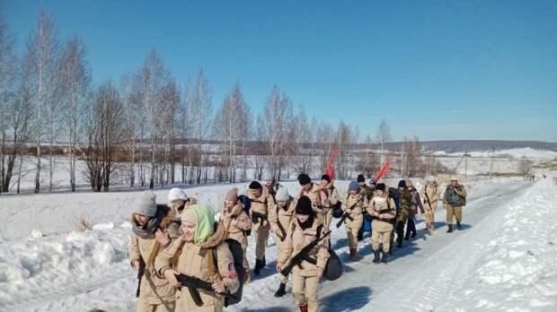 Члены подросткового клуба «Вымпел» приняли участие в тактических учениях под Белгородом