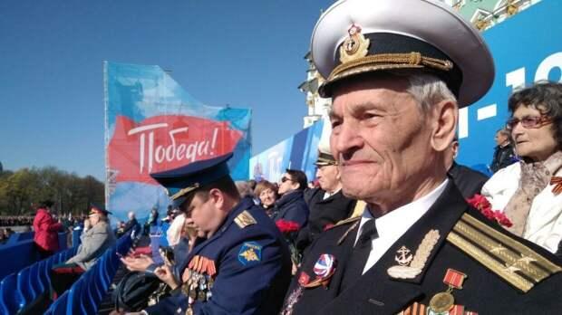 Праздник Великой Победы отмечают по всей России