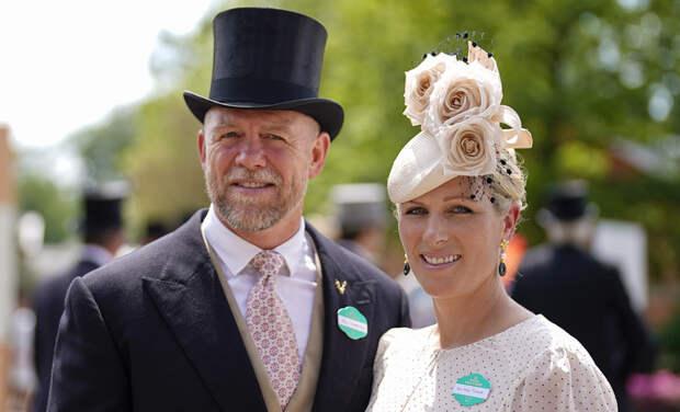 Первые из королевской семьи: Зара и Майк Тиндалл посетили скачки Royal Ascot