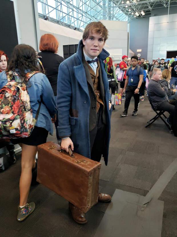 """Креативные посетители """"Comic Con-2019"""" в Нью-Йорке"""