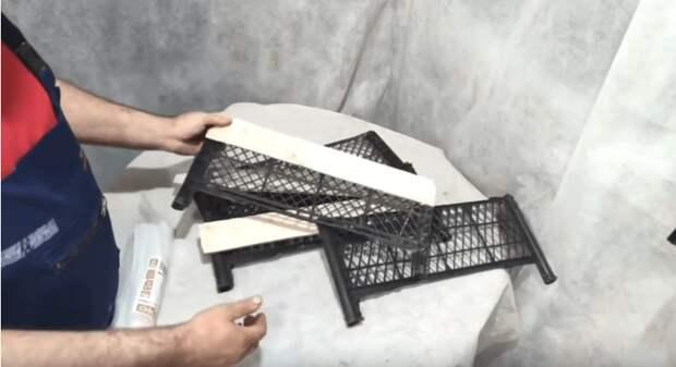 Нужный, полезный и красивый декор из пластиковых ящиков для вашего участка