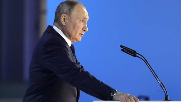 """Украинский журналист сравнил речь Путина с """"точным выстрелом"""""""