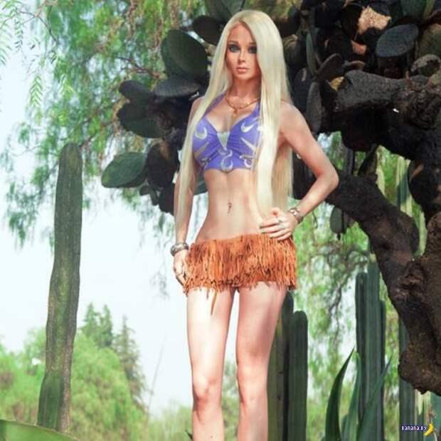 Главная кукла планеты –Валерия Лукьянова