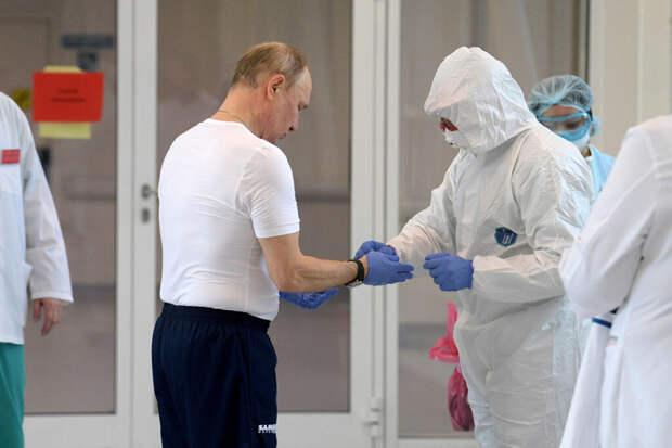 Путин не исключил, что ему придётся уйти на карантин