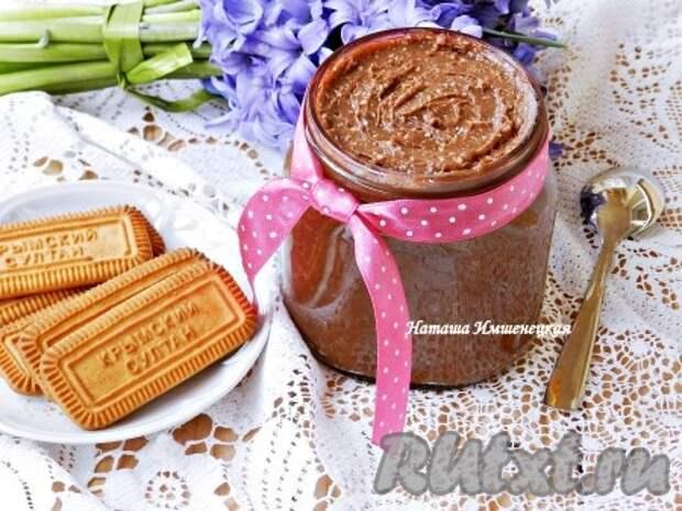 Рецепт домашней шоколадной пасты