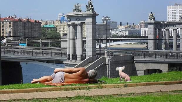 В Москве 17 мая ожидаются солнце и до +30°С