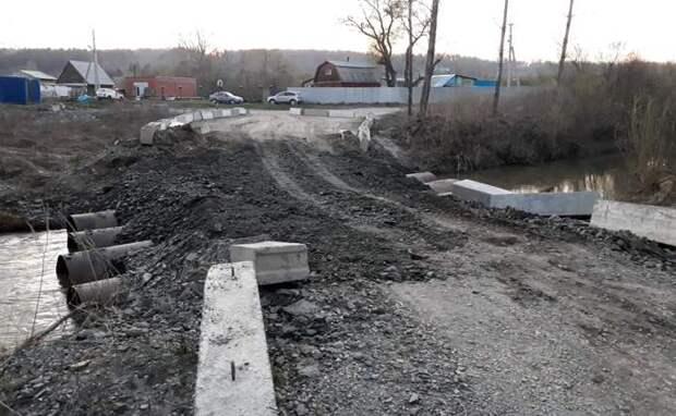 Дорога до парка «Бердские скалы» и тропу Зверобой восстановлена