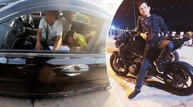 Герой спас жизнь 8-летней девочке, объехав пробку на своём мотоцикле в мире, герой, история, люди, мотоцикл, спасение